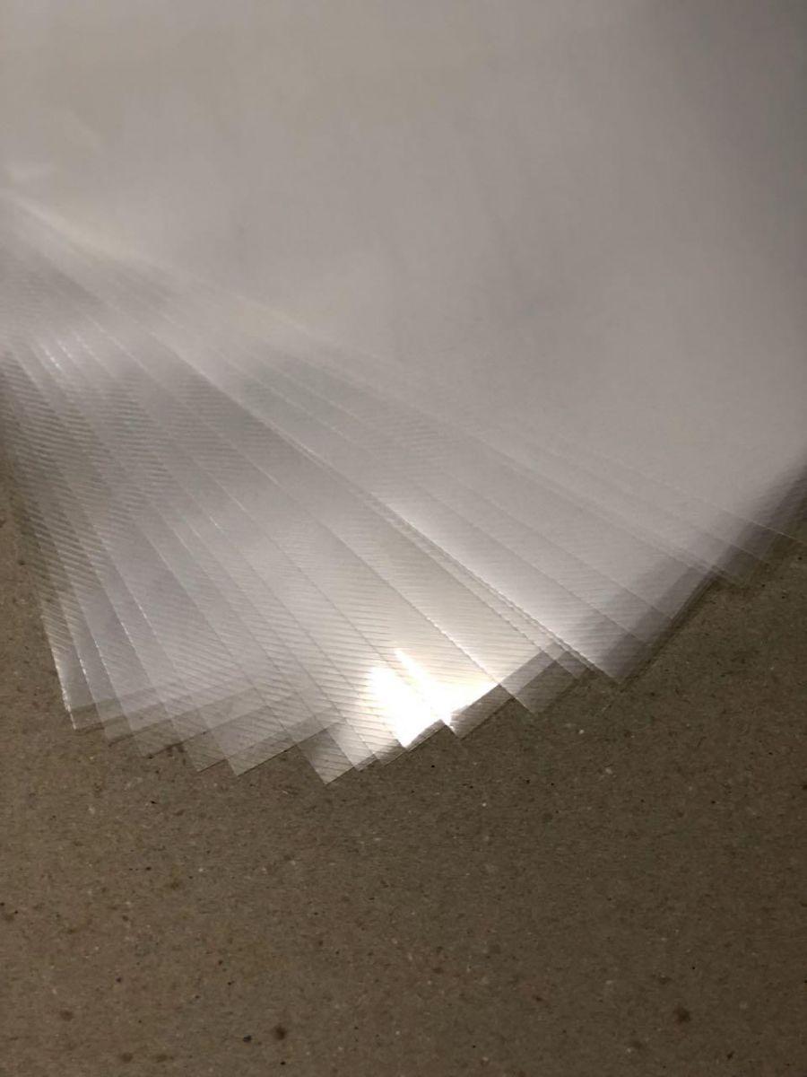Capa A4 - transparente Line